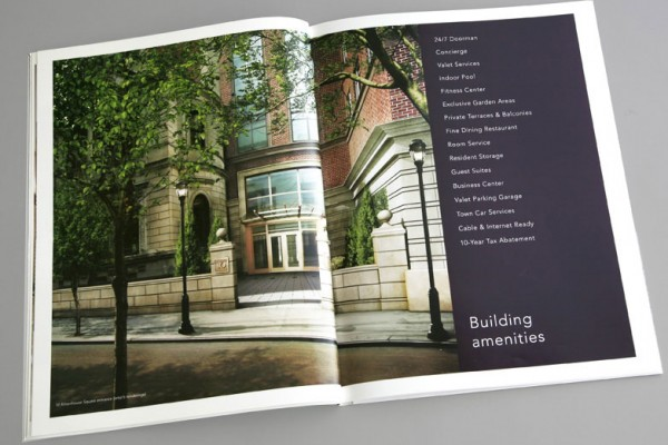 10 Rittenhouse Square | Robert A.M. Stern | Kellyco Marketing | Designed comprehensive branding and marketing program for prestigious condominium product in Philadelphia, designed by renowned architect Robert A.M. Stern. Campaign featured original lifestyle photography which was utilized across advertising, website and all print collateral. Other program components included event promotion, signage and sales office design.