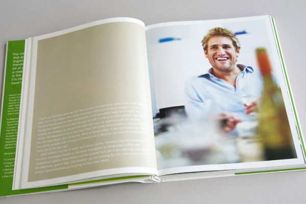 book design, cookbook design, graphic design, photo editing, copyediting, Kellyco Marketing, Curtis Stone, Clarkson Potter