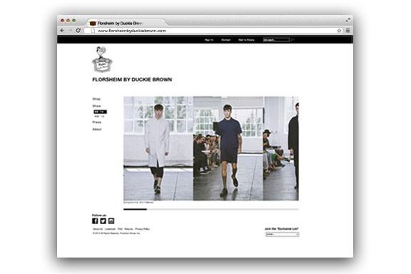 fashion, fashion marketing, fashion online, menswear, menswear marketing, menswear branding, menswear e-commerce, collaboration, fashion collaboration, Duckie Brown, Florsheim, Kellyco Marketing