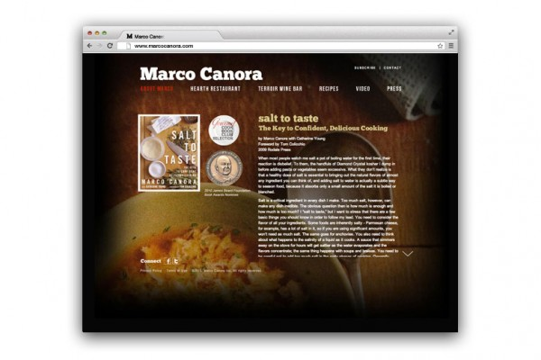 food, food marketing, chef, chef marketing, chef website, chef site, new york chef, website design, web design, digital design, marco canora, kellyco, kellyco marketing, hearth, hearth new york, hearth restaurant, terroir, terroir restaurant